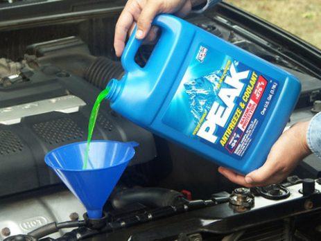 Nước làm mát cho động cơ ô tô
