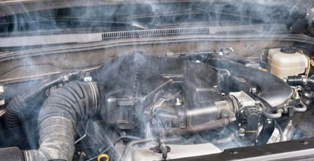 Xử lý két nước ô tô bị hư hỏng